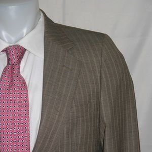 Yves Saint Laurent Two Button Vintage 70s Suit 39R